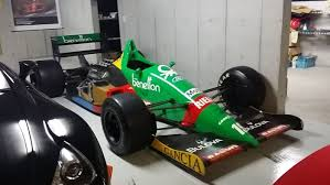 formula 1 car for sale a benetton f1 car from 1988 is up for sale