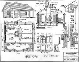 small cabin blueprints 30 diy cabin log home plans with detailed step by step tutorials