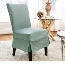 Slip Covers For Dining Room Chairs Luxury Suede Mid Pleat Relaxed Fit Dining Chair Slipcover With
