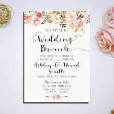 brunch invitation ideas wedding brunch invitation wording paperinvite