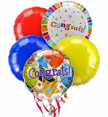 retirement balloon bouquet congratulations balloon bouquet 5 mylar balloons a