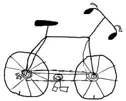 how to draw a bike for kids free download clip art free clip