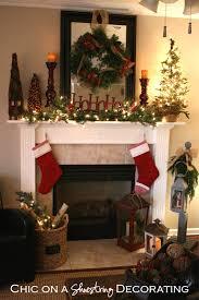 lighted christmas tree garland interior lighted mini christmas tree fireplace decor pine leaves