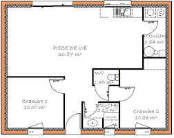 plan maison 2 chambres plain pied plan maison 80m2 2 chambres merci de vos conseils etage plan