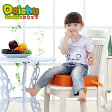 Booster Seat Dining Chair New Children Increased Pad Baby Booster Seat Cushion Adjustable