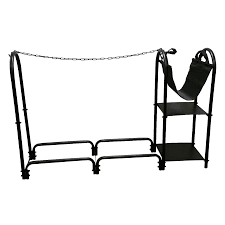 shop style selections steel third cord firewood rack at lowes com