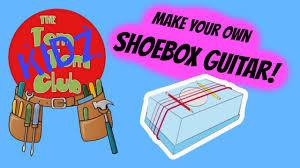make your own pre kids musical instruments diy shoebox