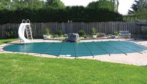 Backyard Pool Safety by Heritage Pools Swimming Pool Covers For Pool Safety Available