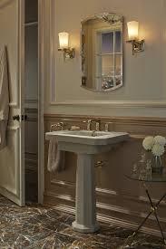 Kohler Pedestal Bathroom Sinks Gold Leaf Bathroom Kohler Ideas