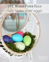 paper easter eggs diy washi paper eggs up to date interiors