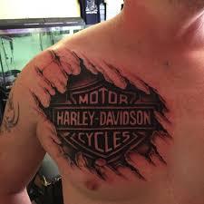 95 adventurous harley davidson tattoos