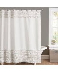 54 Shower Curtain Deal On Amelie Ruffle 54 Inch X 78 Inch Shower Curtain In