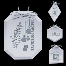 custom mirror ornaments customized imprinted logo promotion