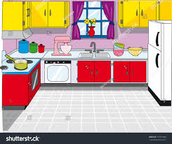 kitchen clean background stock vector 319761908 shutterstock