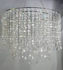 diamond chandelier 24 diameter multi diamond cut chandelier