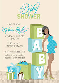 when should baby shower invites be sent out free printable