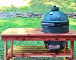 Green Egg Table by Big Green Egg Etsy