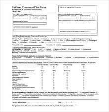 substance abuse treatment plan template plan template 47 free