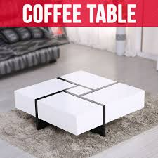 glossy white coffee table coffee table design wood and white coffee table inspirational