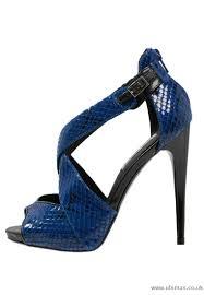 sandals steve madden banocka heeled sandals blue women women u0027s