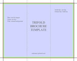 blank tri fold brochure template free download expin franklinfire co