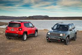 jeep renegade trailhawk orange 2016 jeep renegade crash tested to mixed safety results