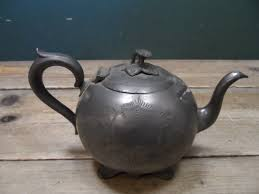 vintage antique sheffield pewter teapot ebay teapottery