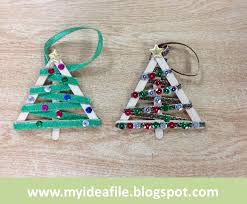 my idea file you ve been grinched and popsicle stick ornaments