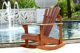 Outdoor Patio Furniture Houston by Furniture Brown Rocking Teak Adirondack Chairs For Outdoor Patio