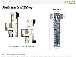 family suite b with balcony coast residences caluscusan