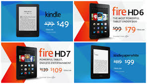 amazon black friday tablets best cyber monday ebook deals 2014 u2013 kindle kobo nook and more