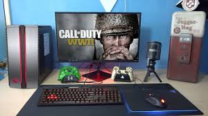 my pc gaming setup youtube