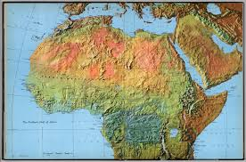 Maps Of Africa by The Northern Half Of Africa David Rumsey Historical Map Collection