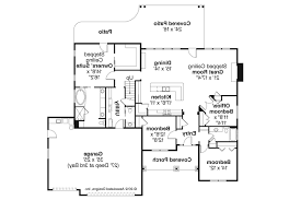 Ranch Floor Plan Ranch House Plans Jamestown 30 827 Associated Designs