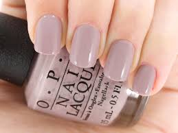 my new fave polish opi nail lacquer in taupe less beach simple