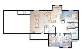 bungalow house plans with basement house plan w3101 v1 detail from drummondhouseplans