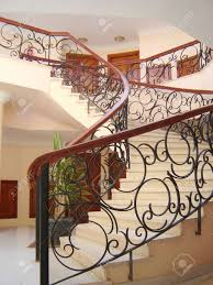 decor u0026 tips appealing banisters ideas with handrails for curved