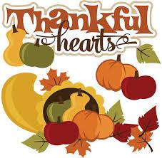 thankful hearts svg thanksgiving svg file cornucopia svg file svg