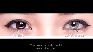 color contacts comfortable