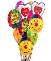 nationwide balloon bouquet delivery service happy birthday thoughts of cheer balloons from 1 800 balloons