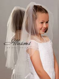 1st communion veils illusions bridal flower girl and communion veils m 251 c