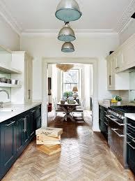 Hardwood Floor Kitchen Ornate Crown Molding Design Ideas