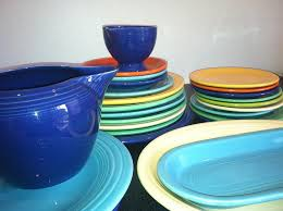 free photo dishes colorful fiestaware plate free image on