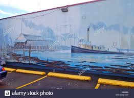 Giant Wall Murals by Giant Outdoor Open Air Wall Murals In Chemanus Vancouver Island