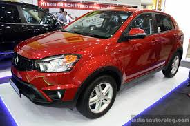 ssangyong korando ssangyong korando at the 2014 colombo motor show sri lanka