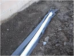 backyards compact french drain to backyard sump pump diy 143