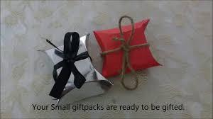 diy paper craft paper gift bag easy christmas 2017 gift
