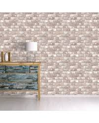 self adhesive removable wallpaper spectacular deal on tempaper textured brick self adhesive removable