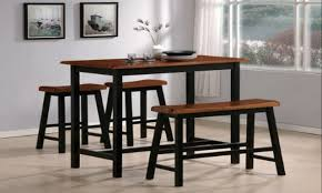 Bar Stool Table Sets Kitchen Accessories Kitchen Table Sets With Matching Bar Stools