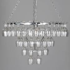 lighting u0026 lamp wine glasses chandelier wine glass chandelier
